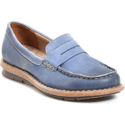 B?rn Tok Water Resistant Penny Loafer, Blue