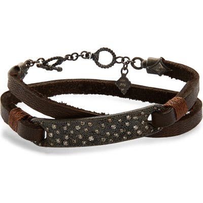 Armenta Old World Wrap Bar Bracelet