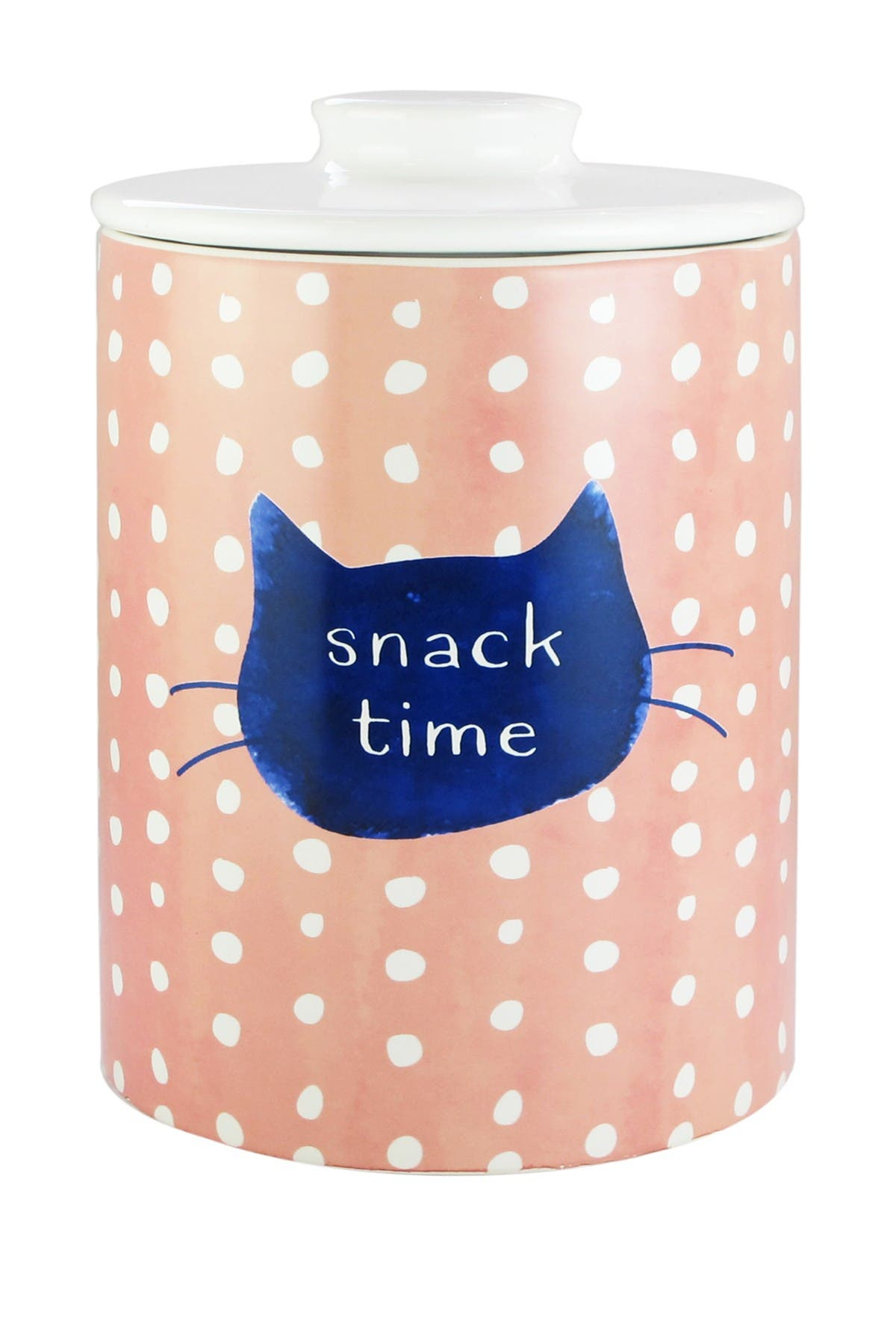 Image of Jay Import Snack Time Ceramic Canister - Pink