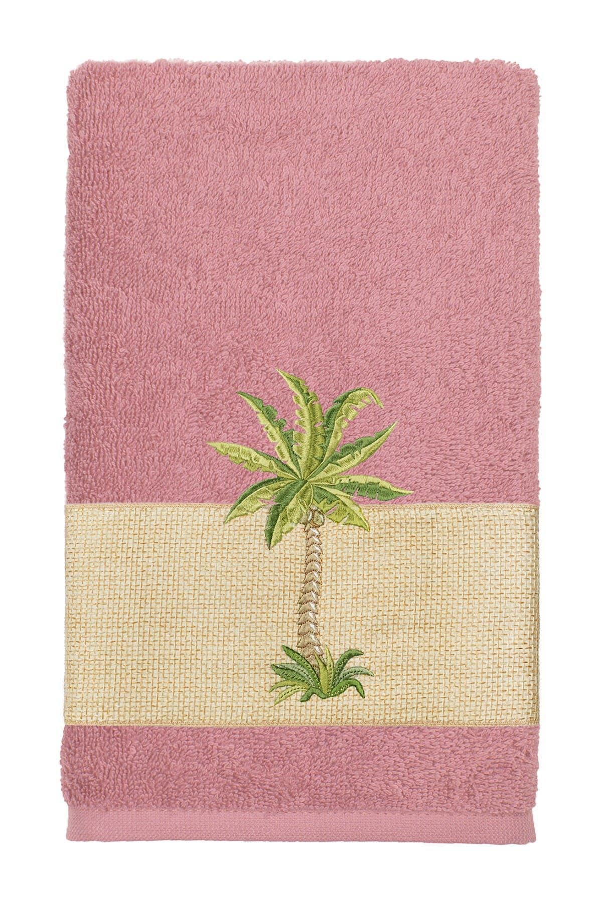 Linum Home Towels COLTON EMBELLISHED BATH TOWEL