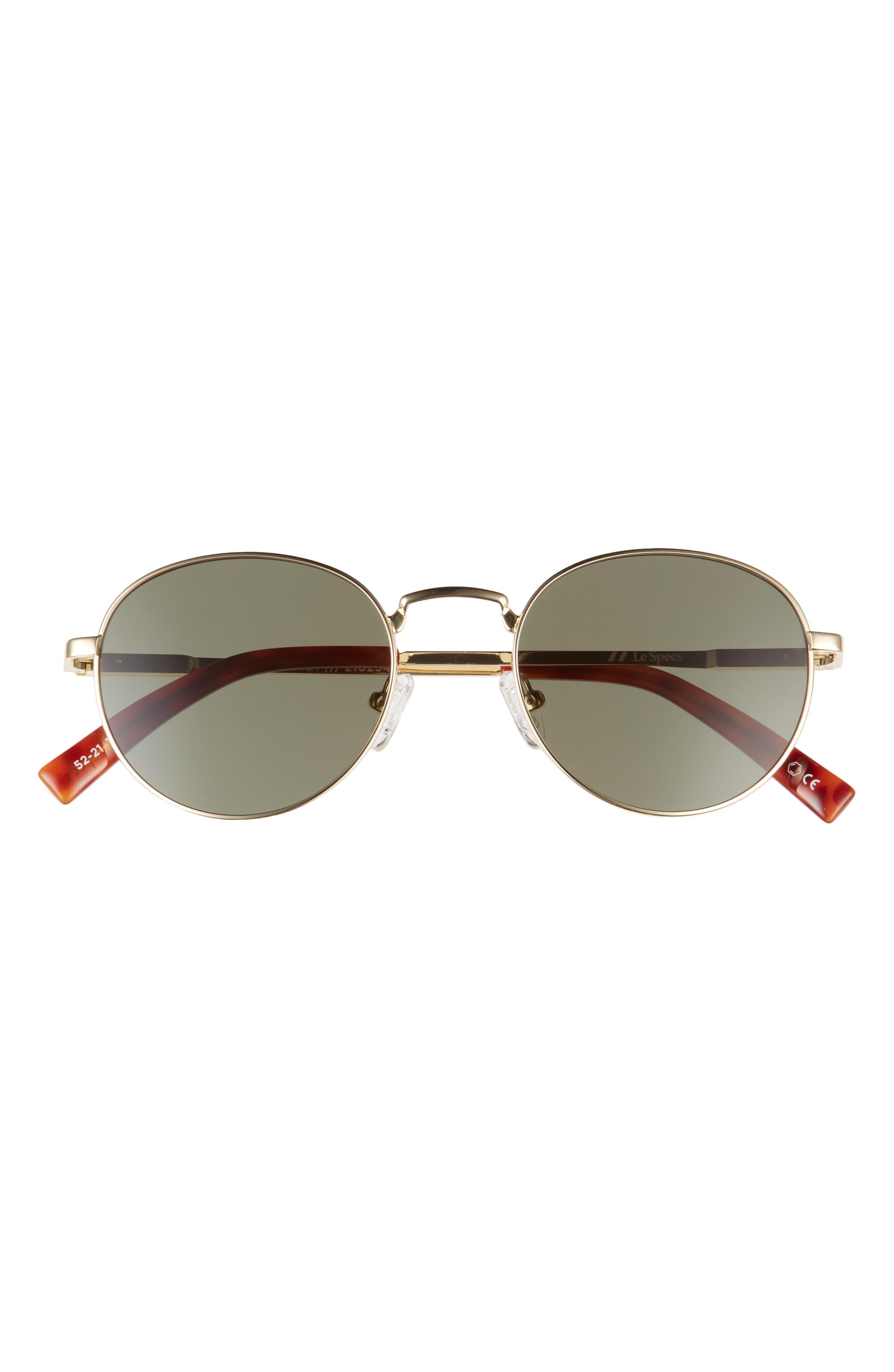 Legacy 52mm Round Sunglasses