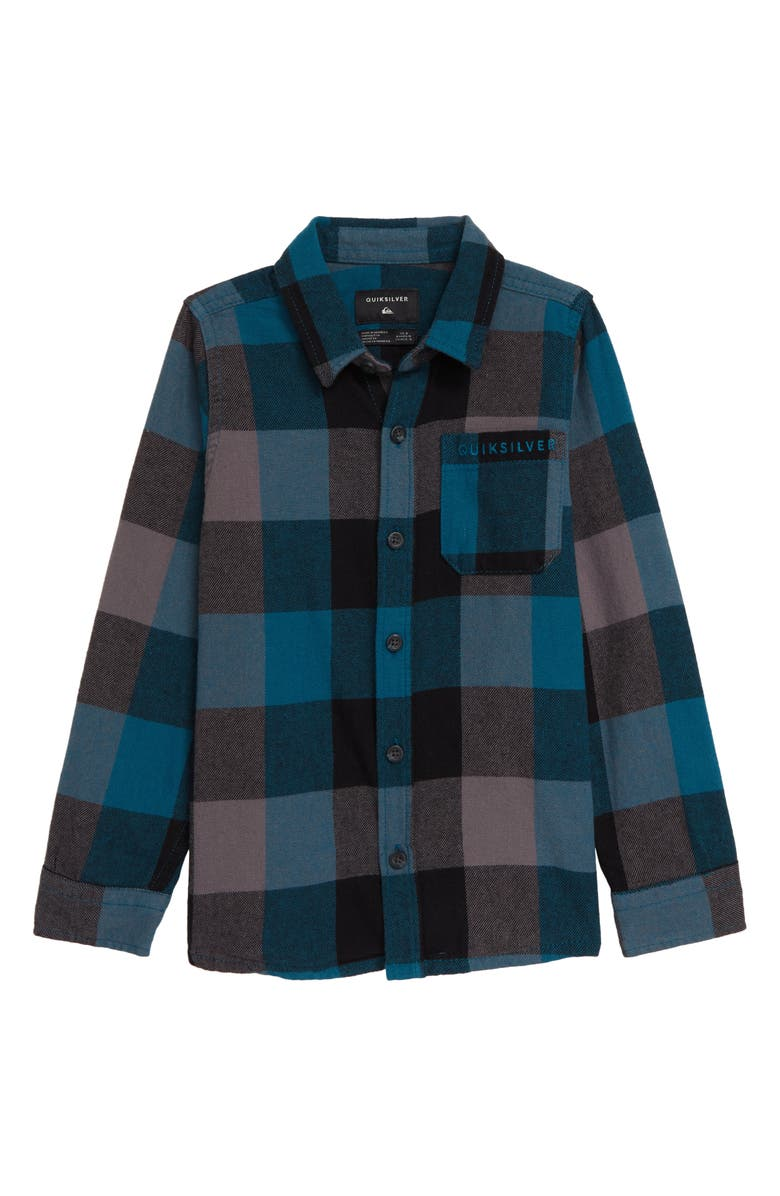 QUIKSILVER Motherfly Flannel Shirt, Main, color, 407