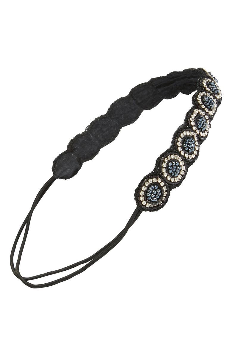 STEPHAN & CO. Beaded Head Wrap, Main, color, 020