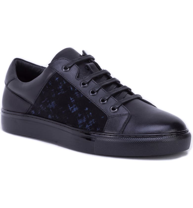 BADGLEY MISCHKA COLLECTION Badgley Mischka Lance Sneaker, Main, color, BLUE LEATHER