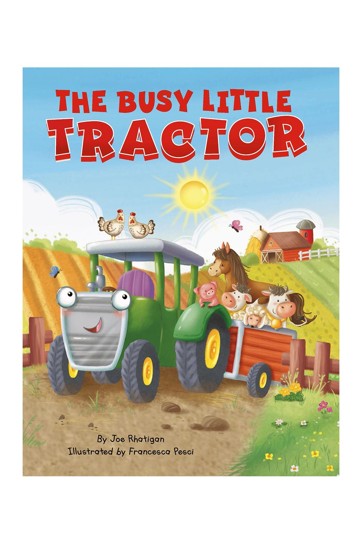 Image of LITTLE HIPPO BOOKS The Busy Little Tractor