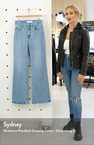Jacqueline High Waist Flare Leg Jeans, sales video thumbnail