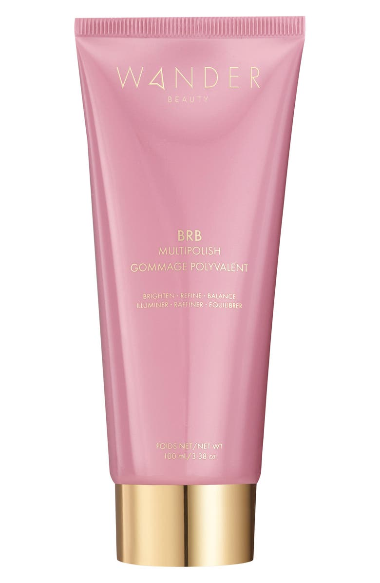 WANDER BEAUTY BRB Multipolish Facial Scrub, Main, color, NO COLOR