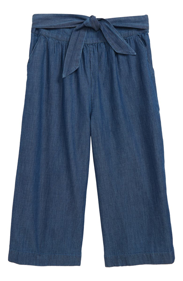 TUCKER + TATE Wide Leg Crop Pants, Main, color, 401