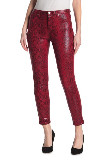 Image of BLANKNYC Denim The Bond Faux Leather Snakeskin Pants