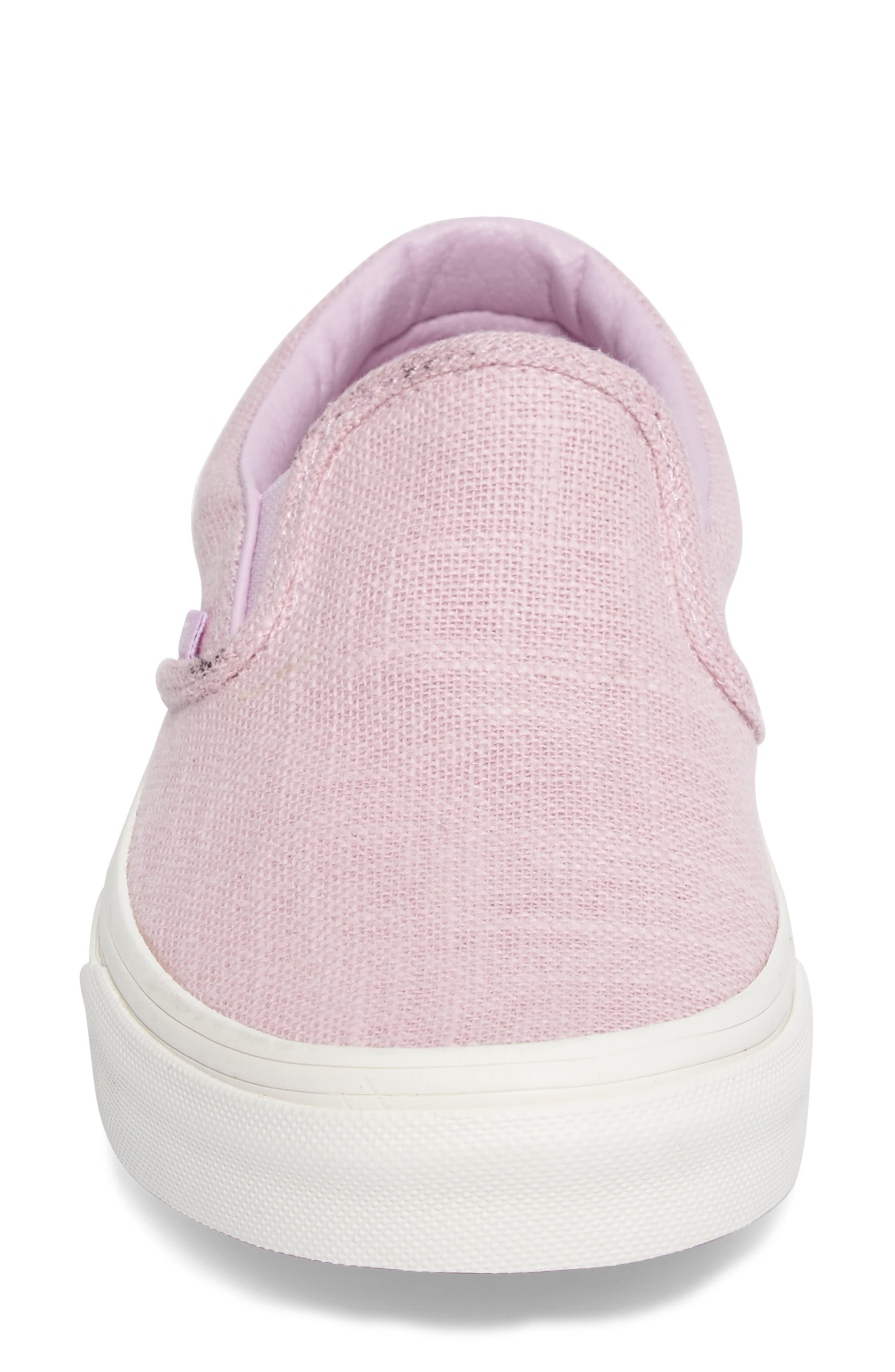 ,                             Classic Slip-On Sneaker,                             Alternate thumbnail 385, color,                             650