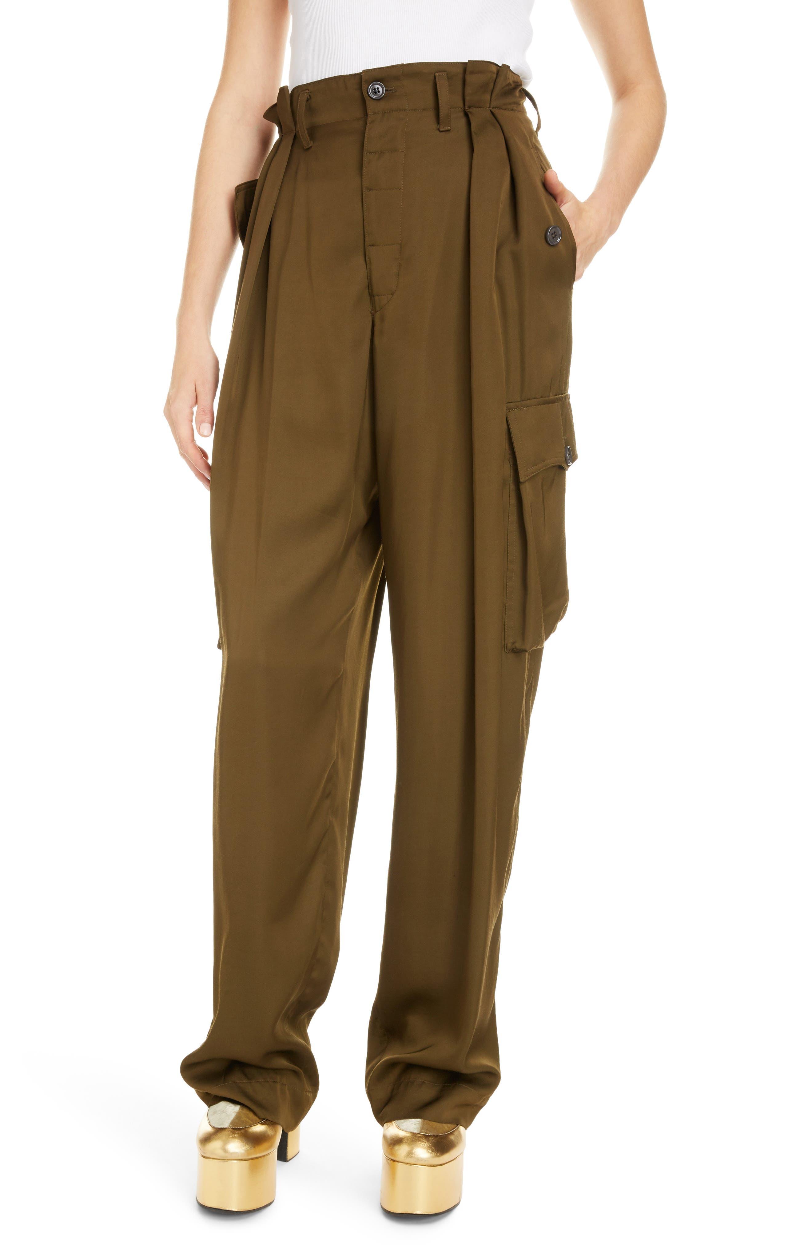 Image of DRIES VAN NOTEN Woven Cargo Pants