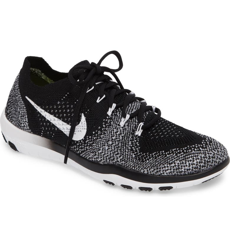 NIKE Free Focus Flyknit 2 Training Shoe, Main, color, 001