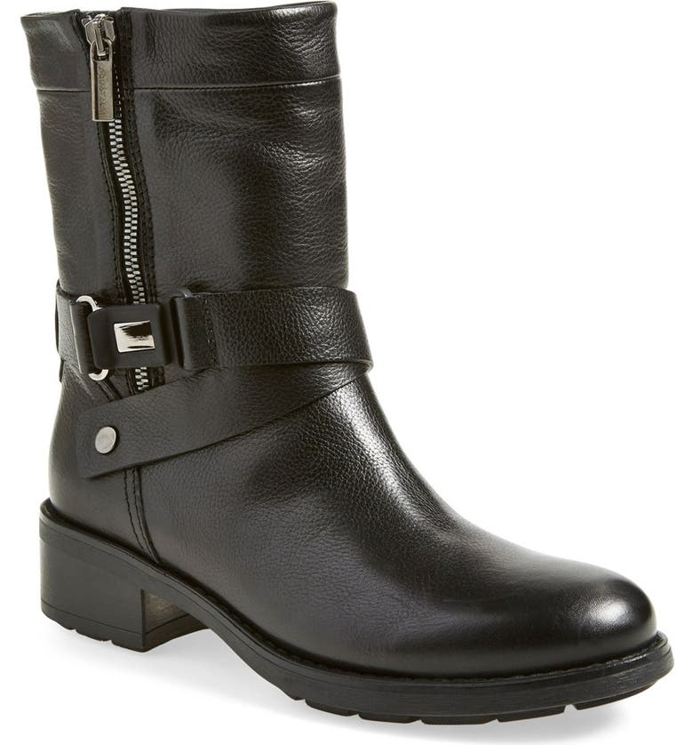 AQUATALIA 'Sami' Weatherproof Moto Boot, Main, color, 001