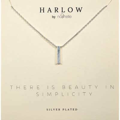 Harlow By Nashelle Bar Boxed Necklace