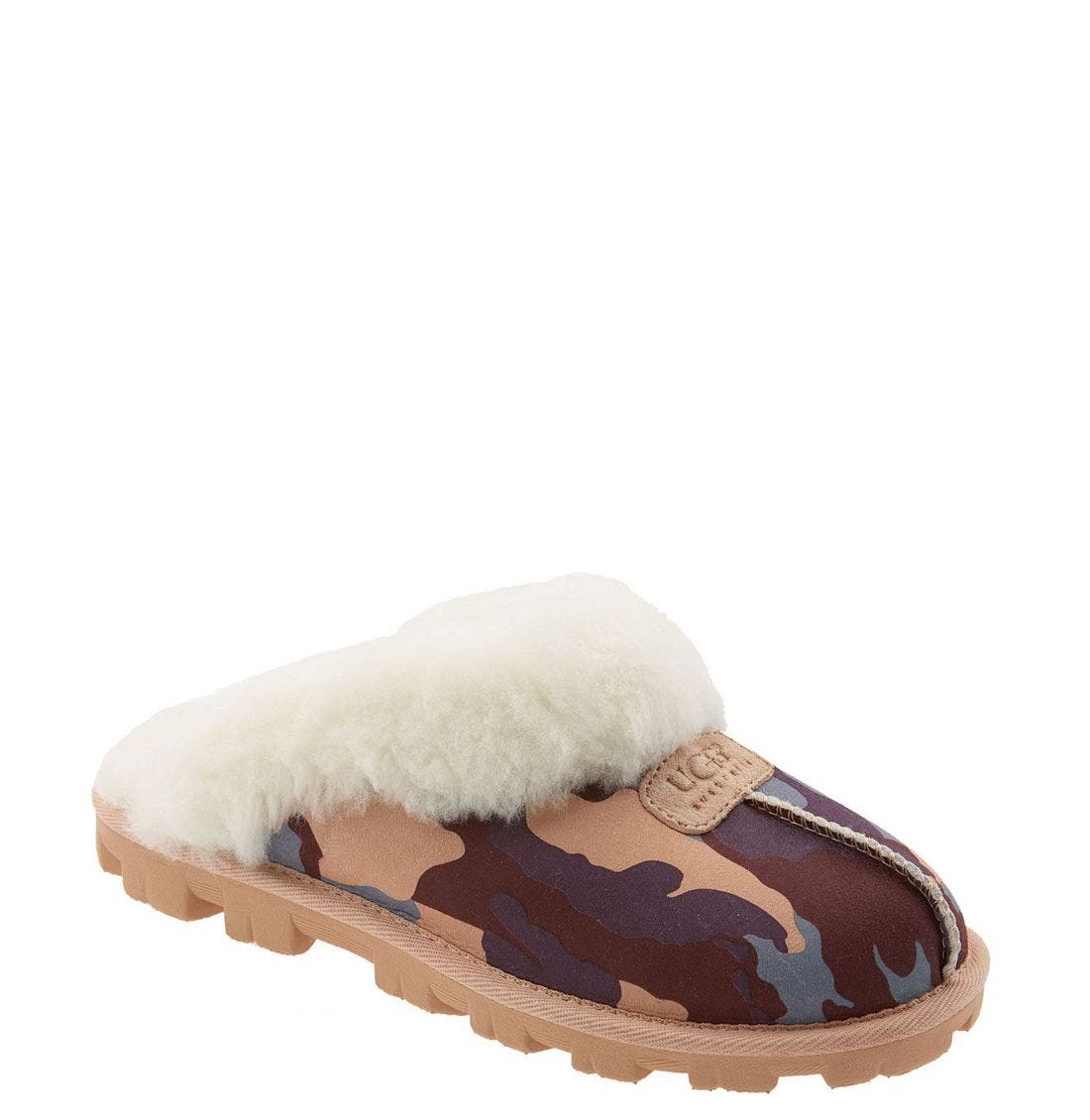 ,                             Genuine Shearling Slipper,                             Main thumbnail 140, color,                             650