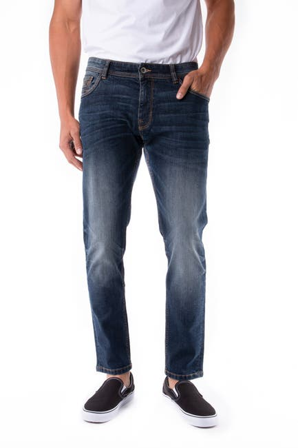 Image of XRAY Skinny-Fit Stretch Five Pocket Jeans