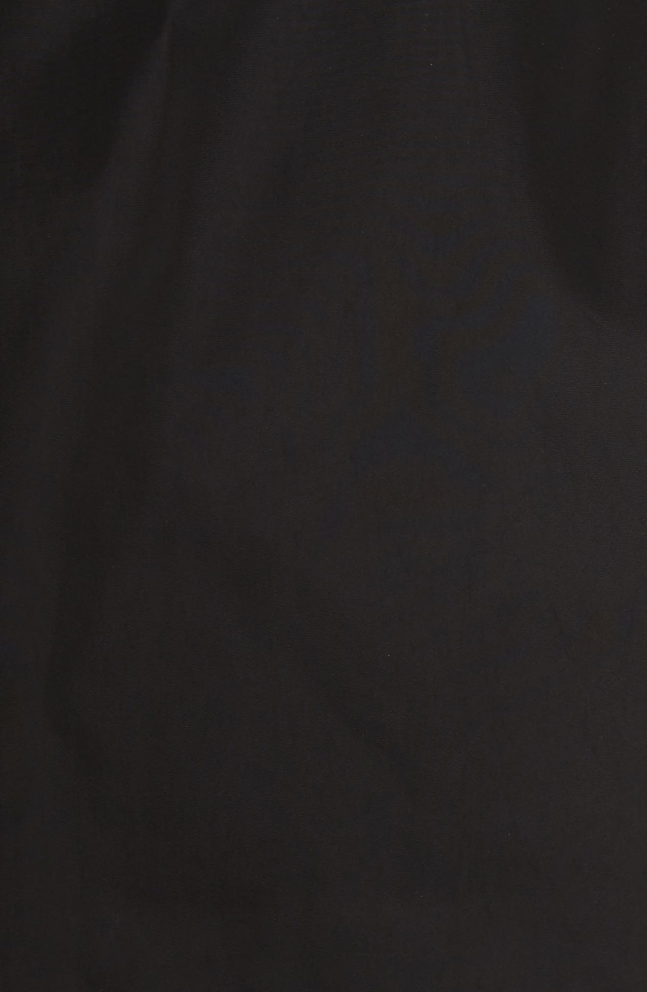 ,                             Amberford Taffeta Trench Coat with Detachable Hood,                             Alternate thumbnail 5, color,                             BLACK