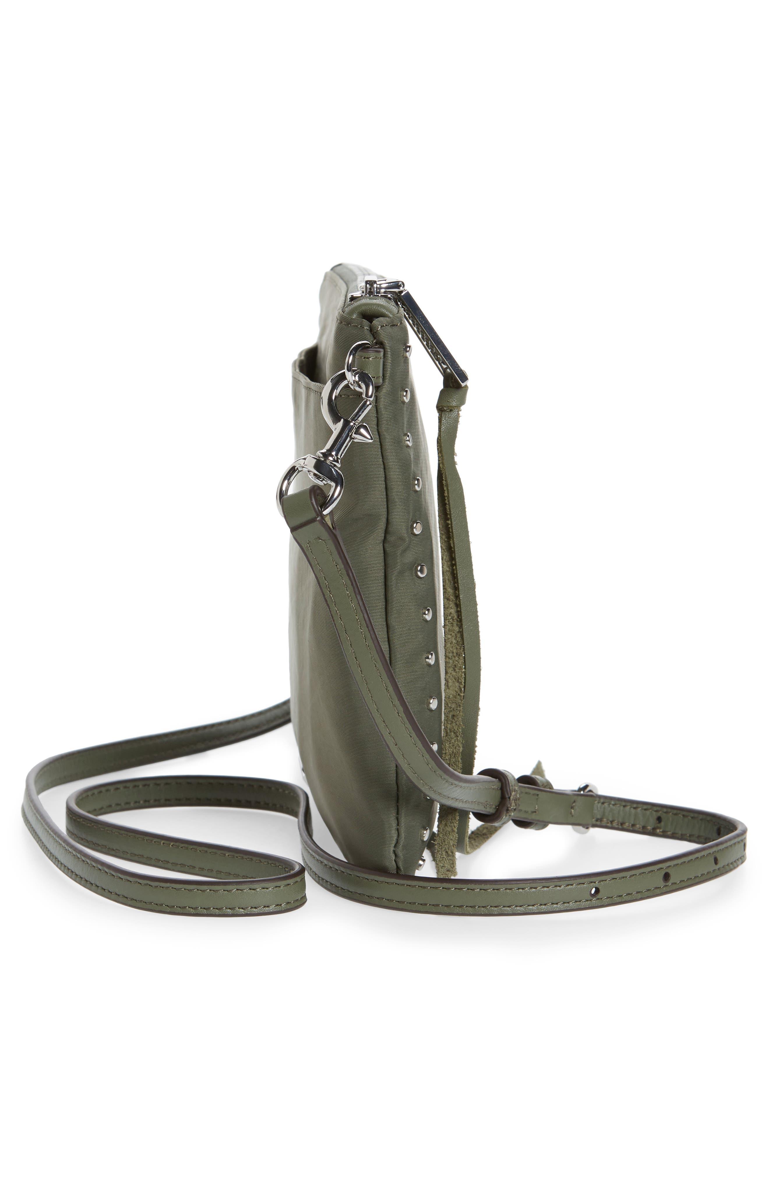 ,                             Jon Studded Nylon Crossbody Bag,                             Alternate thumbnail 18, color,                             305