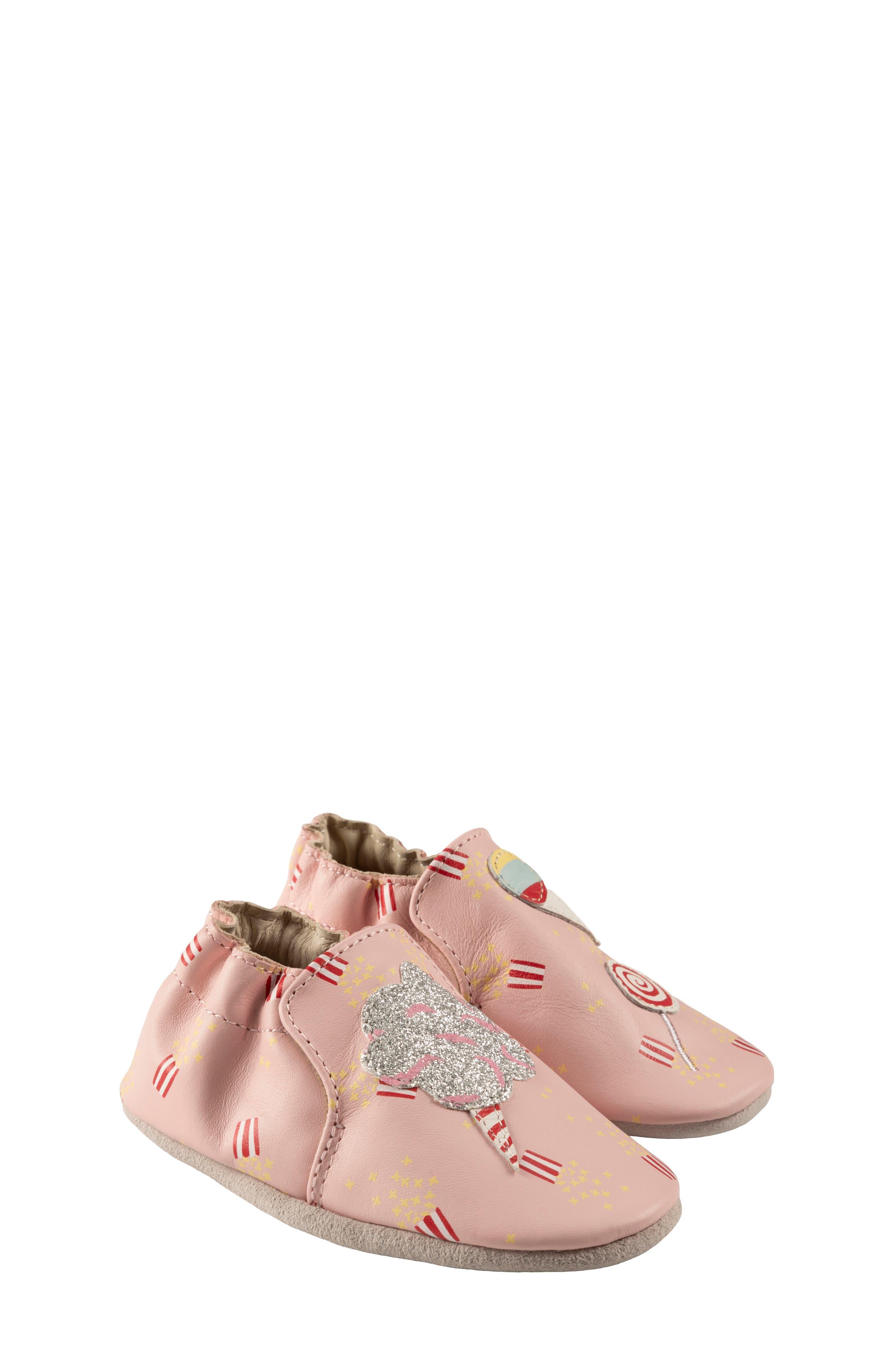 Image of Robeez Dolce Leather Slip-On Shoe