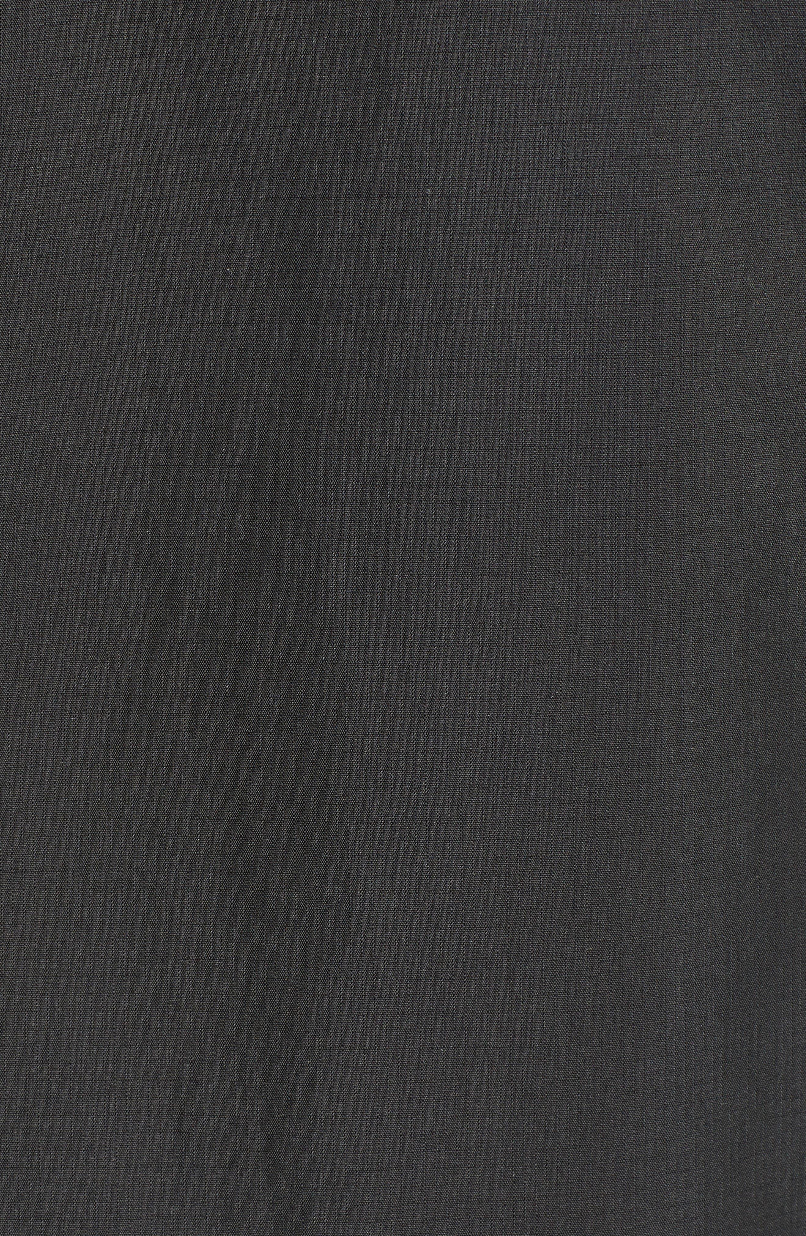 ,                             Ripstop Parka Jacket,                             Alternate thumbnail 5, color,                             PIRATE BLACK