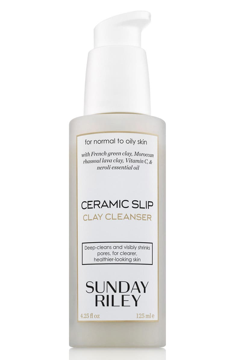 SUNDAY RILEY SPACE.NK.apothecary Sunday Riley Ceramic Slip Cleanser, Main, color, 000