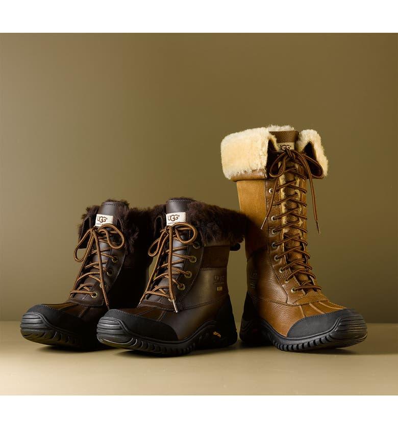 UGG<SUP>®</SUP> Adirondack Waterproof Tall Boot, Main, color, 001