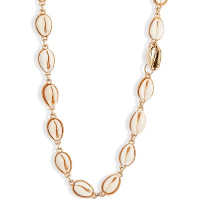 Knotty Puka Shell Necklace