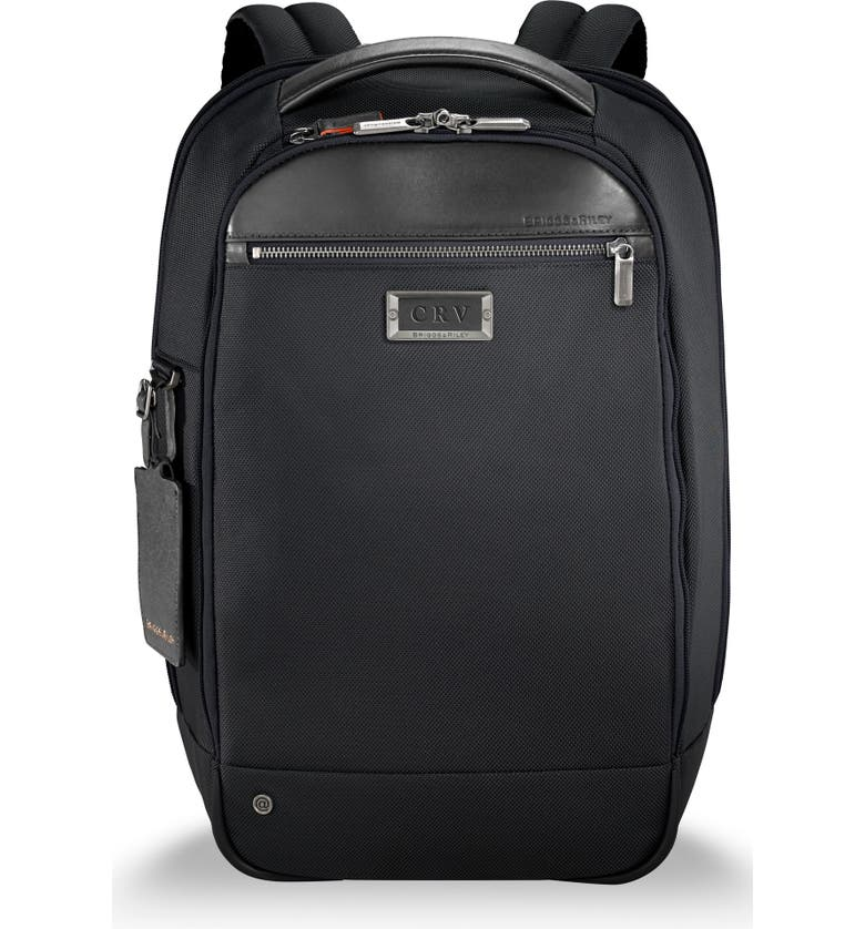 BRIGGS & RILEY @work Medium Slim Backpack, Main, color, NO_COLOR