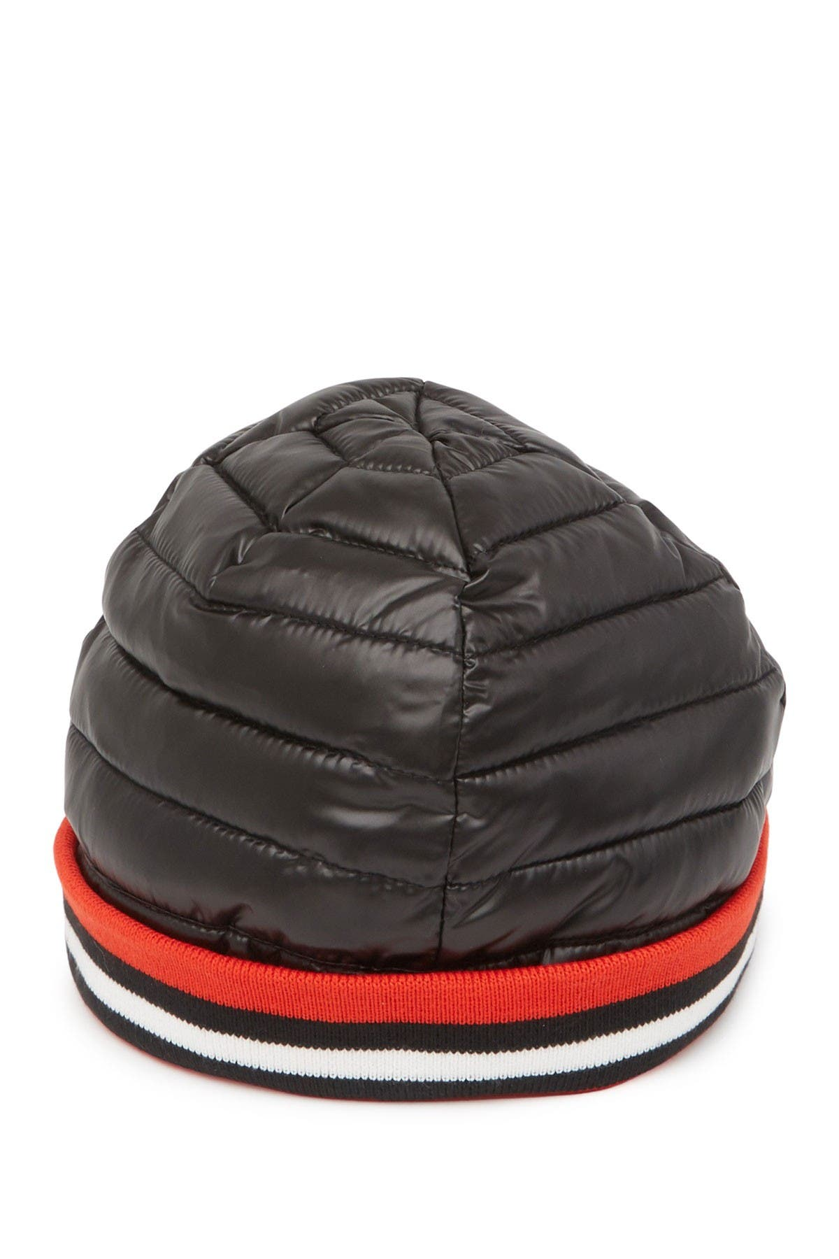 Image of THINK ROYLN Downtown Crown Ribbed Cuff Puffer Beanie