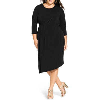 Plus Size City Chic Simply Stylish Dress, Black
