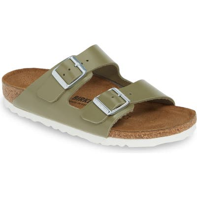 Birkenstock Arizona Slide Sandal, Green