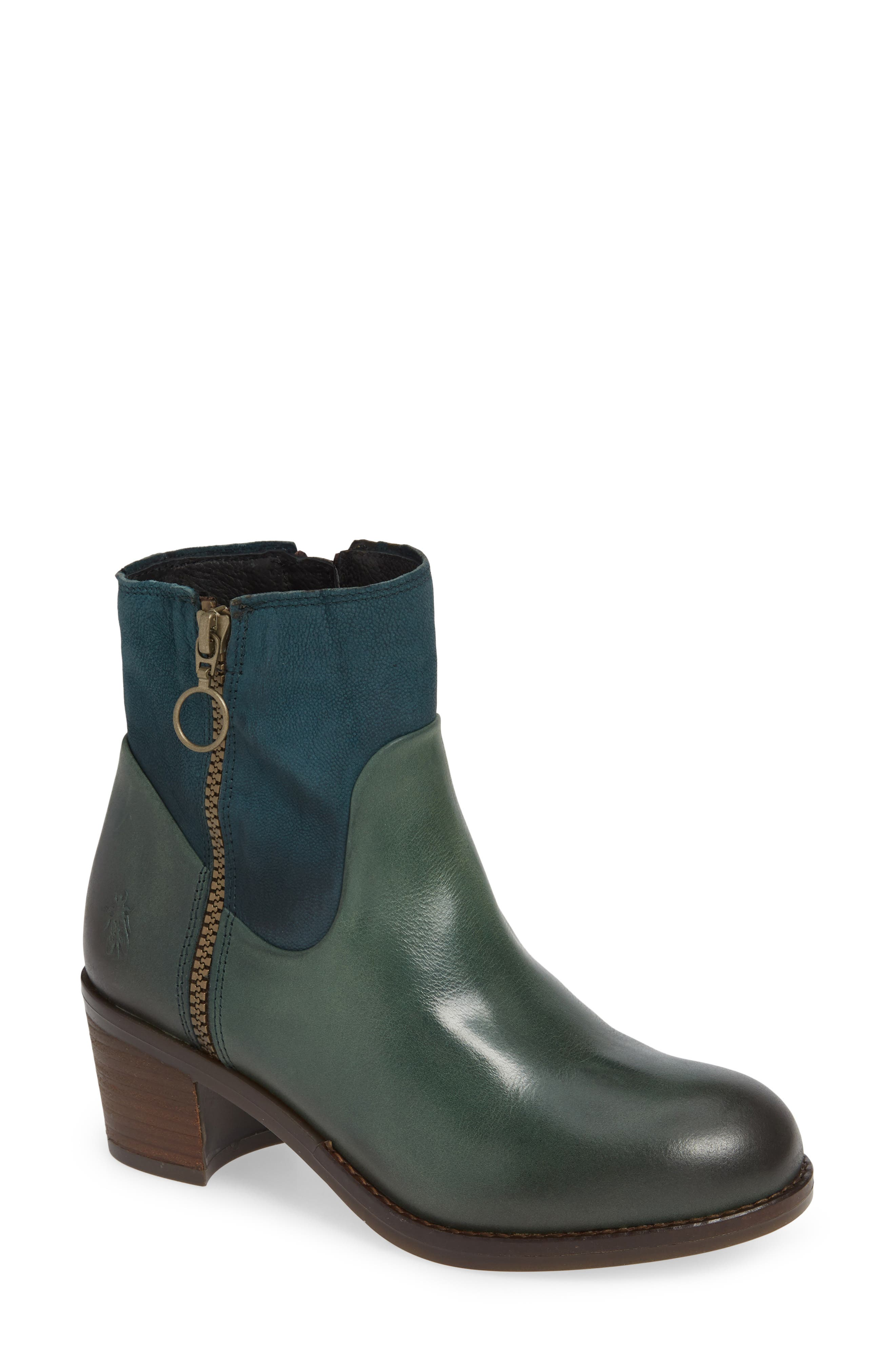 Fly London Zami Bootie - Green