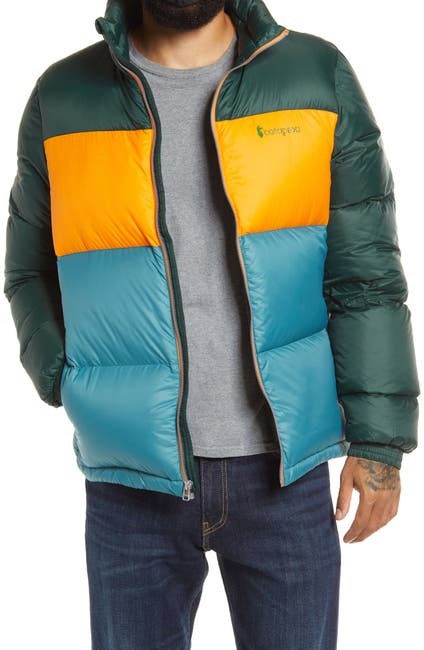 Image of COTOPAXI Solazo Colorblock Down Jacket