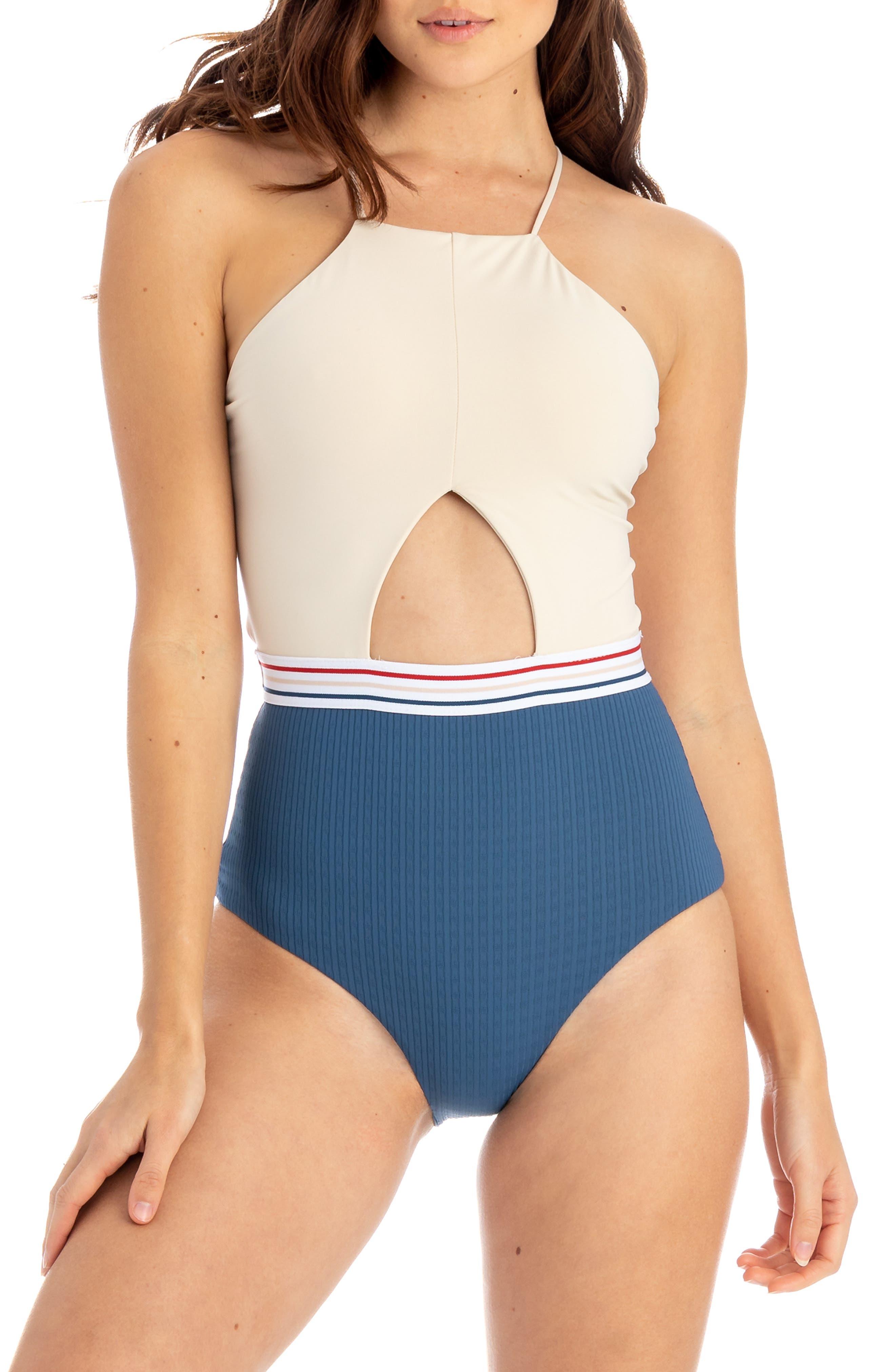 Tavik Christina One-Piece Swimsuit, Blue