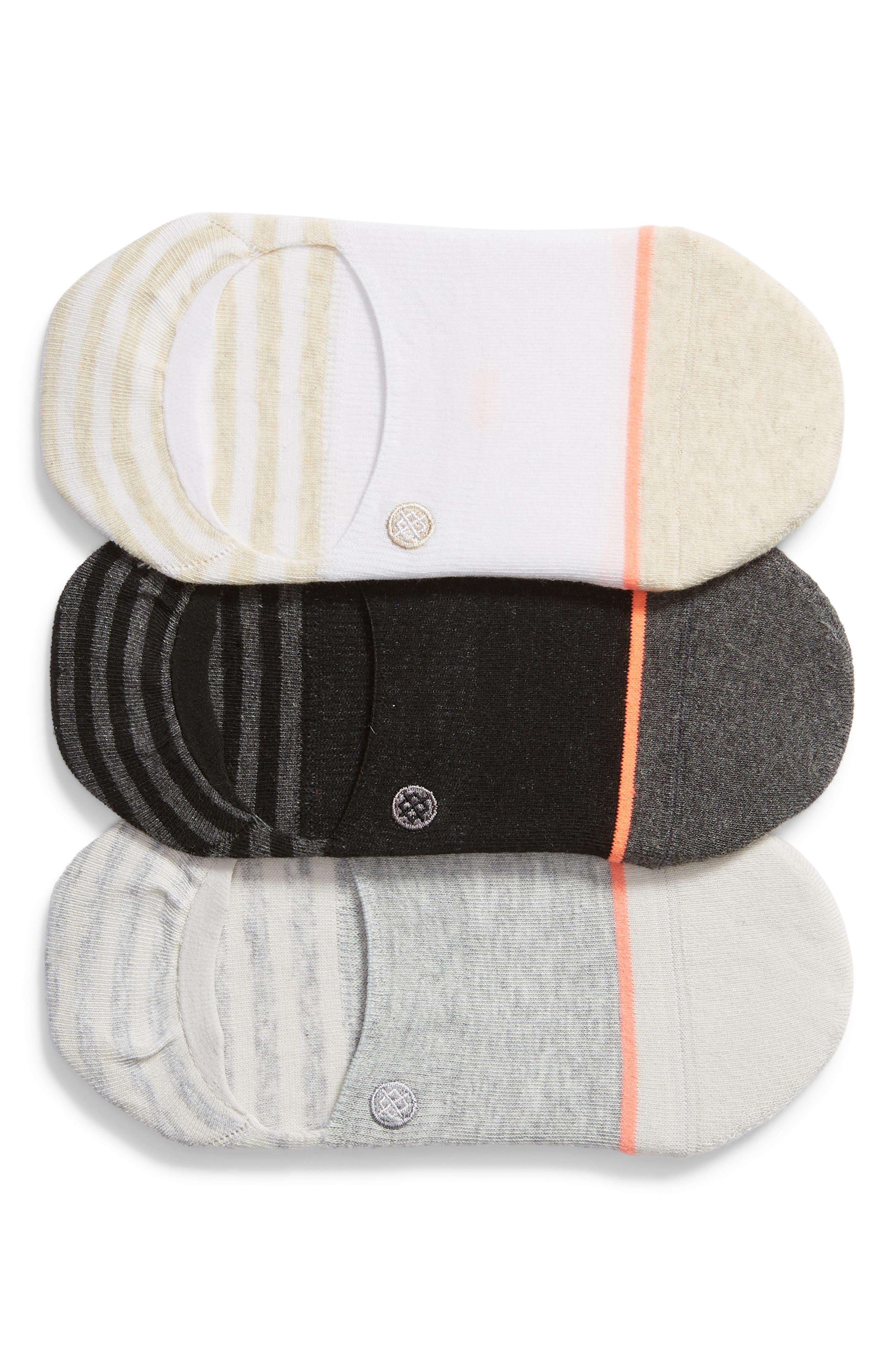 Stance Sensible 3-Pack No-Show Socks