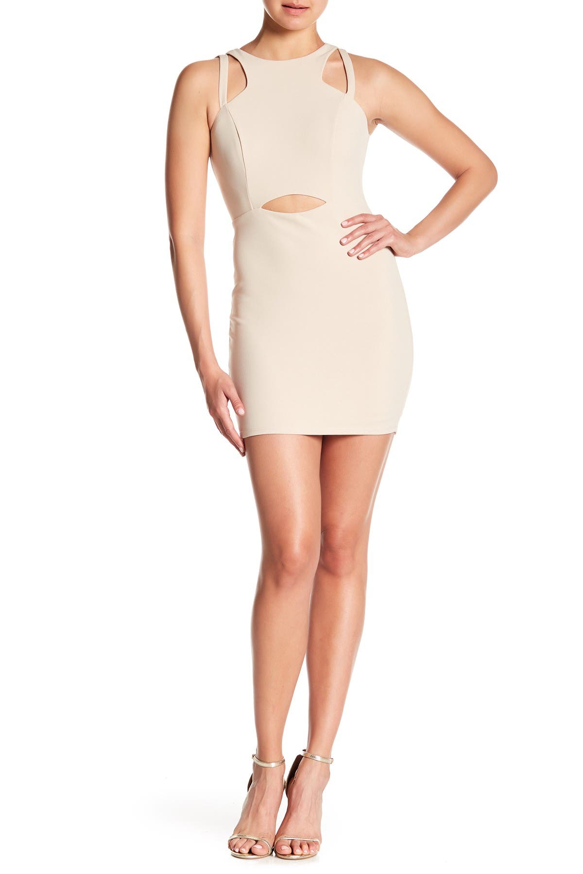 Image of JUMP Cutout Bodycon Dress