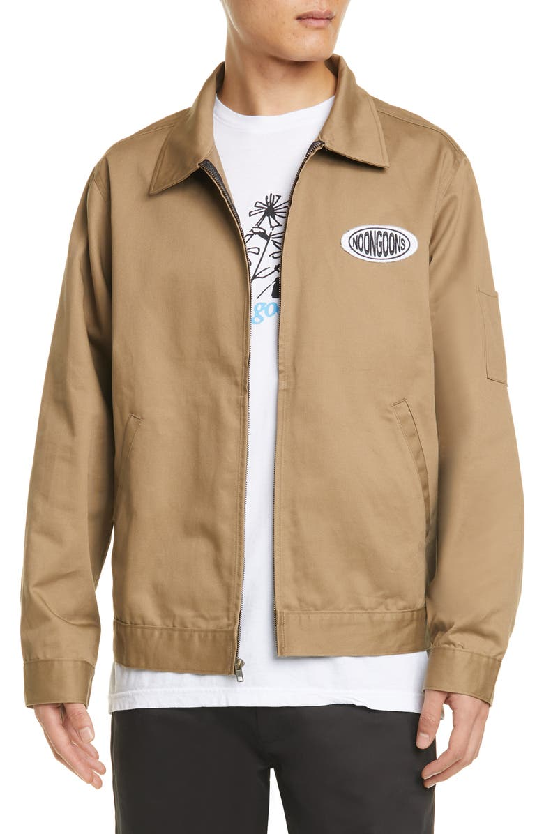 NOON GOONS Industry Jacket, Main, color, KHAKI