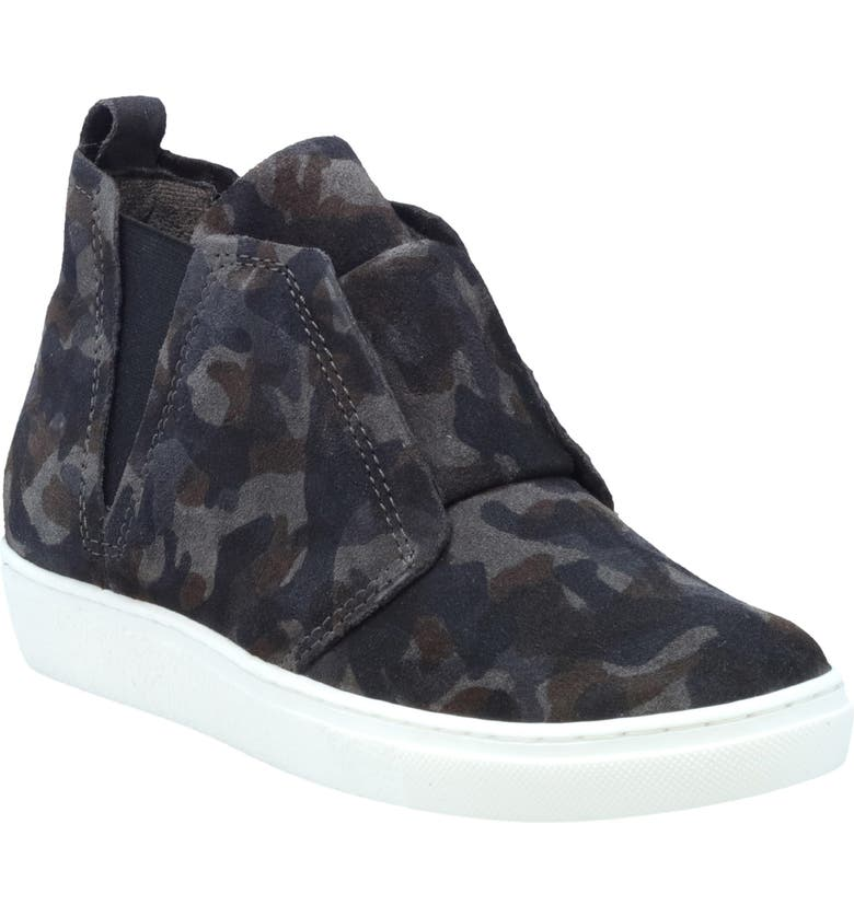 MIZ MOOZ Laurent High Top Sneaker, Main, color, GREY LEATHER