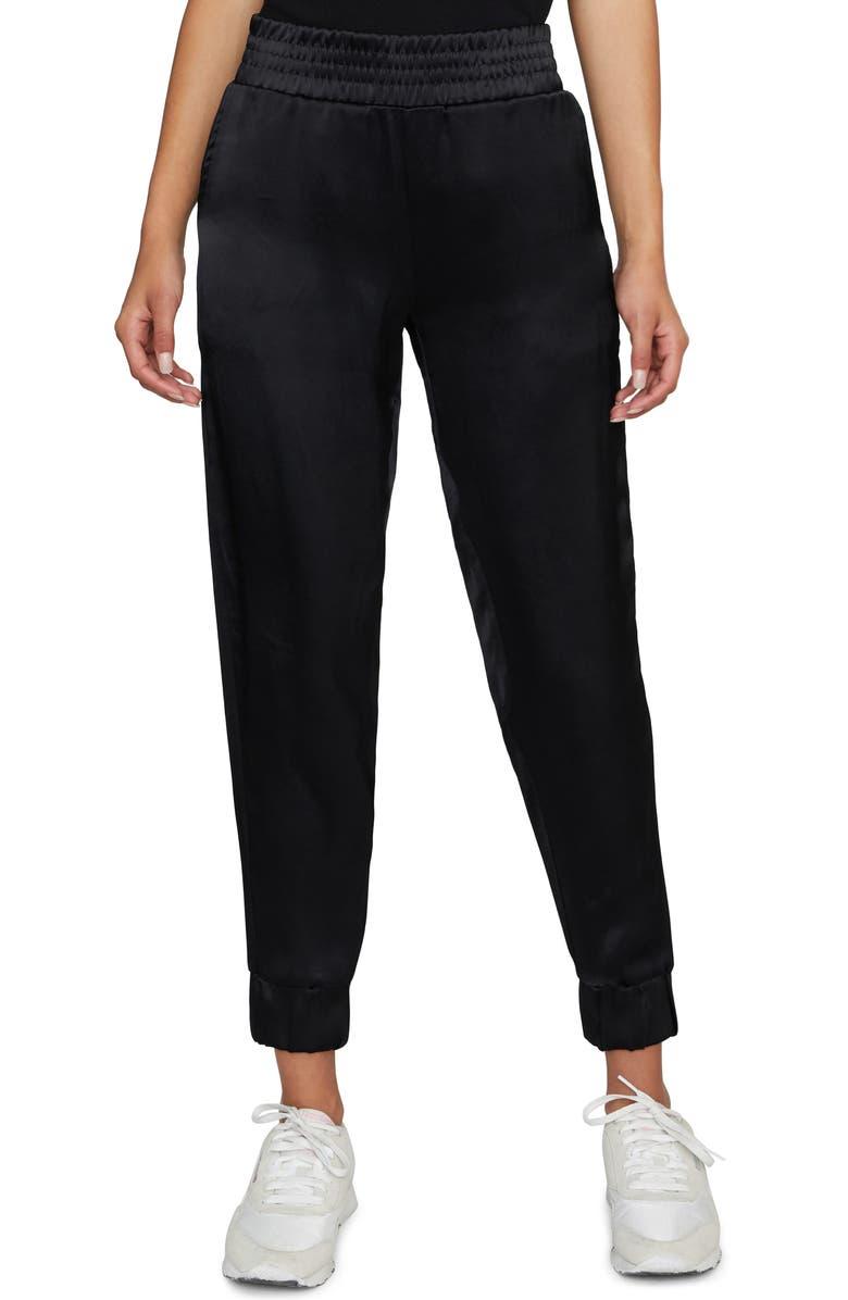 SANCTUARY Jogger Pants, Main, color, 001