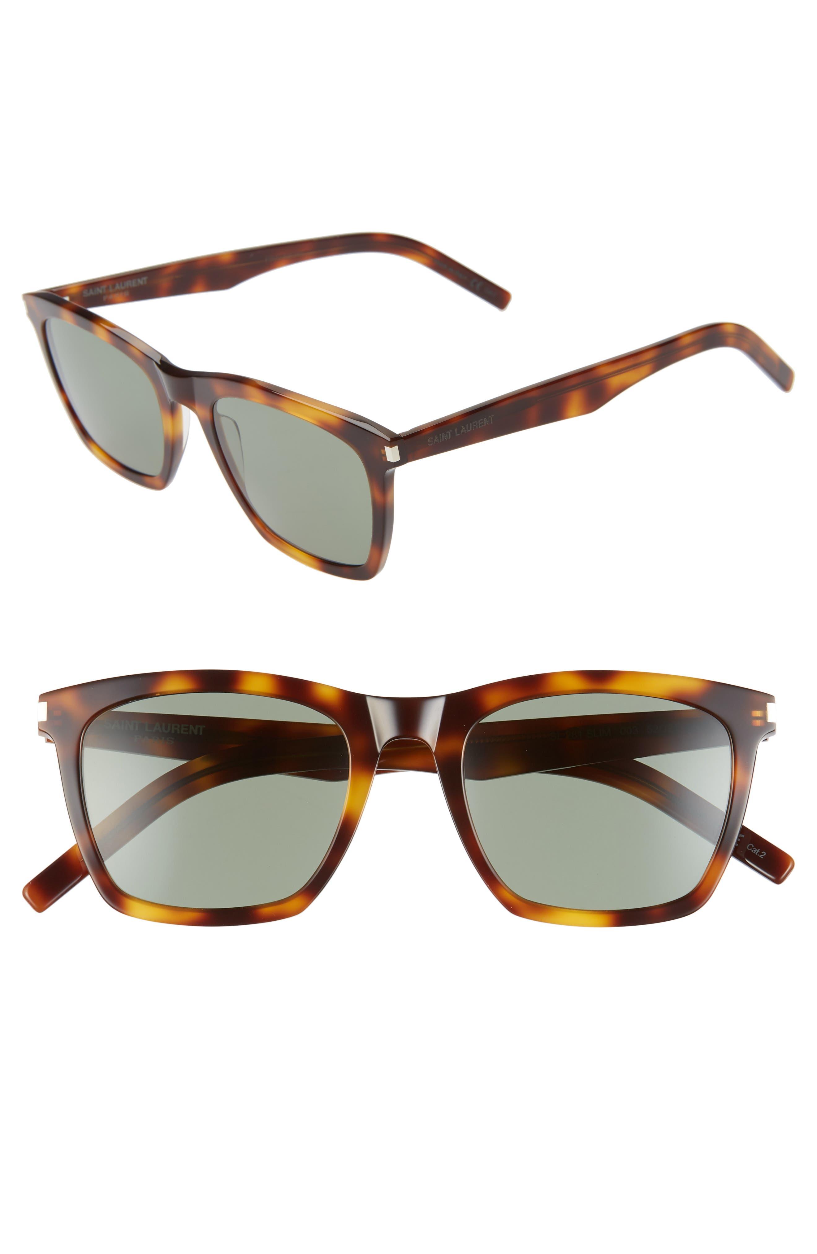 Saint Laurent Sunglasses 52mm Sunglasses