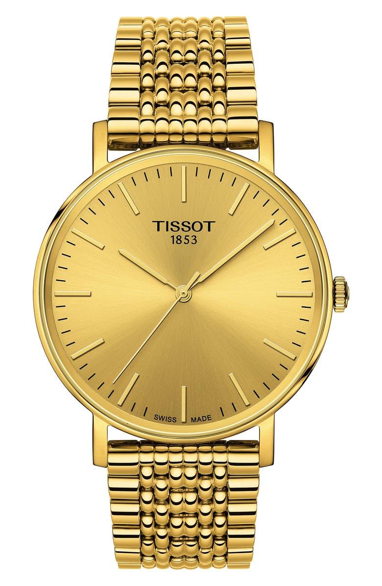 TISSOT Everytime Bracelet Watch, 38mm, Main, color, 710