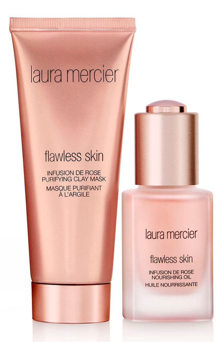 LAURA MERCIER Rose Infused Face Set, Main, color, NO COLOR