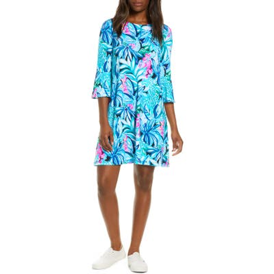 Lilly Pulitzer Ophelia Floral A-Line Dress, Green
