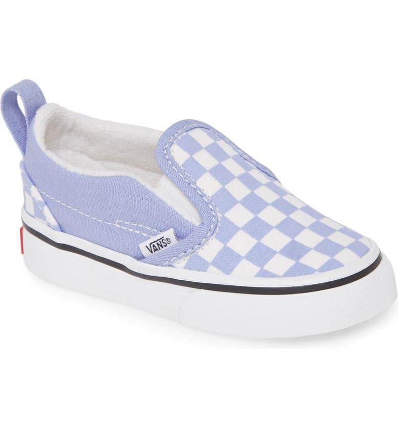 VANS Classic Slip-On Sneaker, Main, color, PALE IRIS/ TRUE WHITE