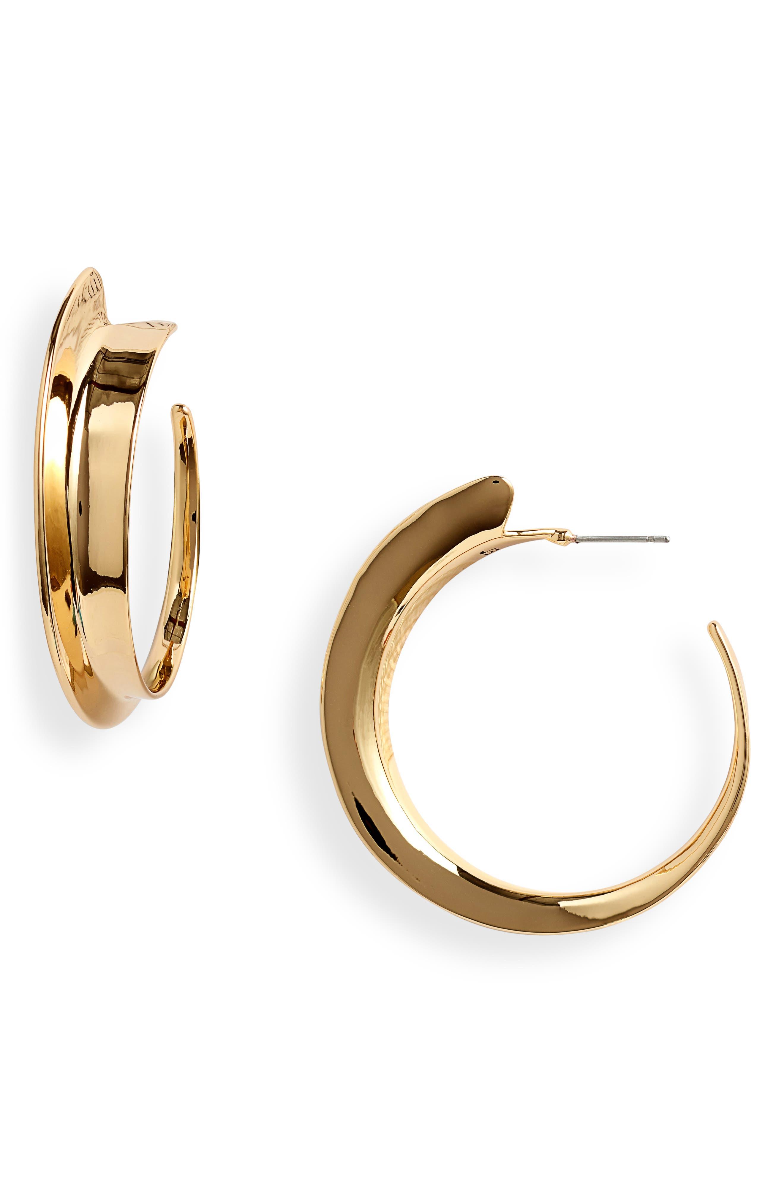 Love 2021 Large Vantage Hoop Earrings