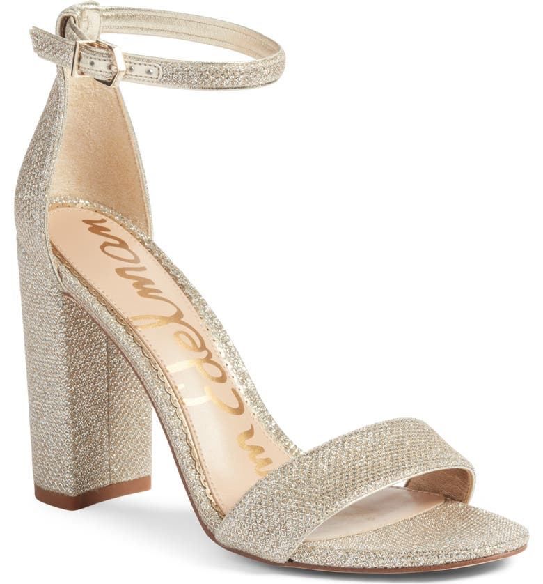 SAM EDELMAN Yaro Ankle Strap Sandal, Main, color, JUTE FABRIC