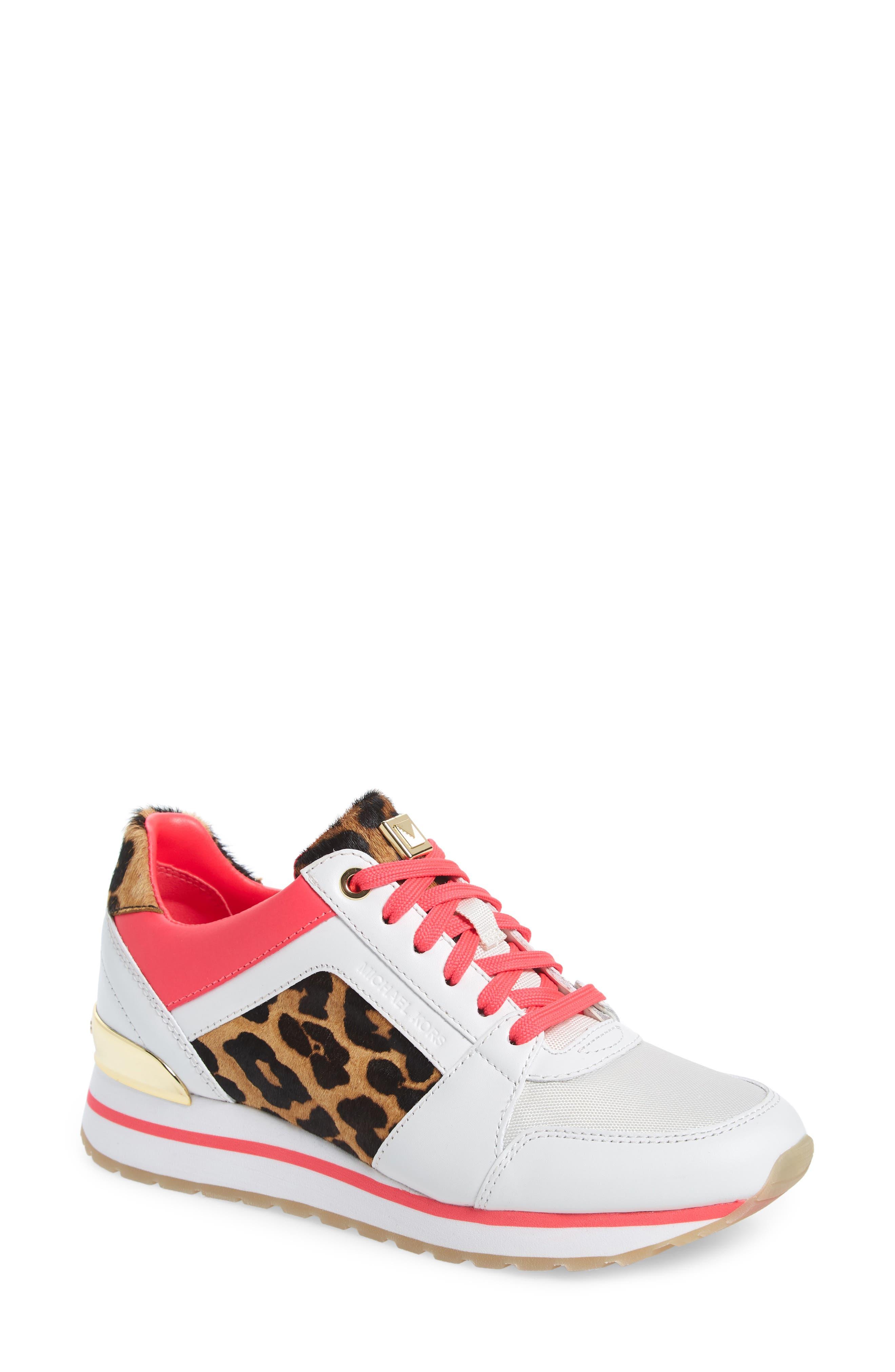 Michael Michael Kors Billie Perforated Sneaker, White