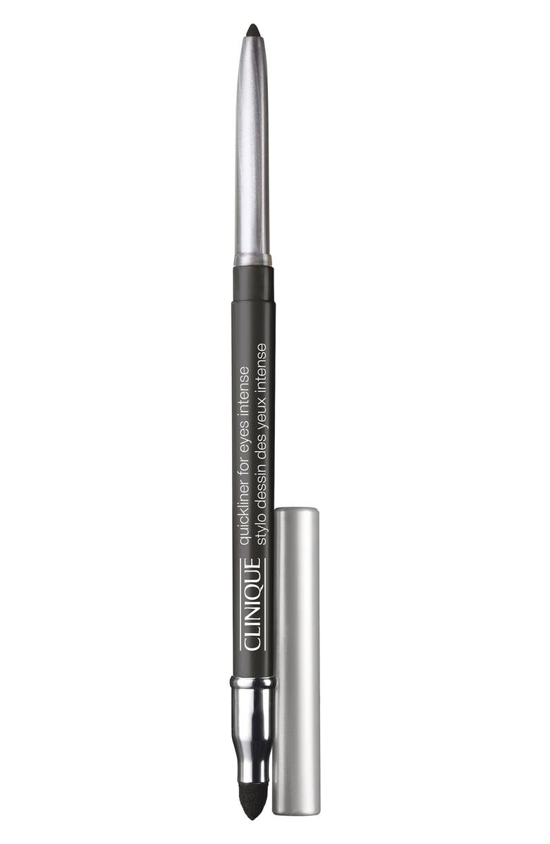 CLINIQUE Quickliner for Eyes Intense Eyeliner Pencil, Main, color, INTENSE CHARCOAL