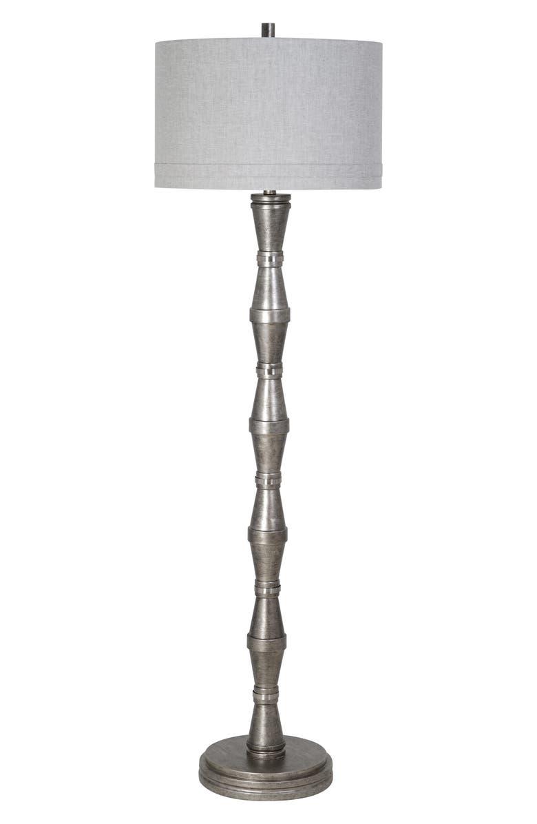 JALEXANDER LIGHTING Walden Floor Lamp, Main, color, PEWTER