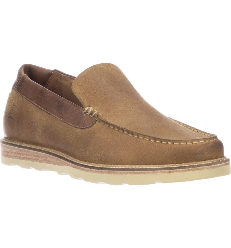 LUCCHESE After-Ride Slip-On, Main, color, OLIVE
